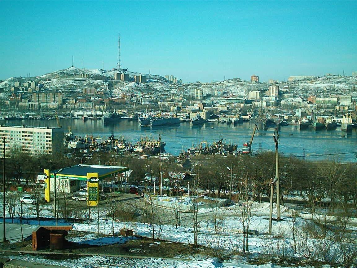 фото владивостока центр города